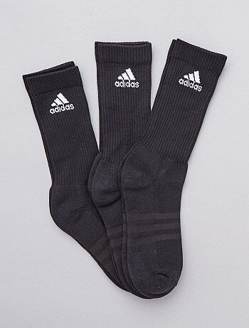 450b349db77 Pack de 3 pares de calcetines altos  Adidas  - Kiabi
