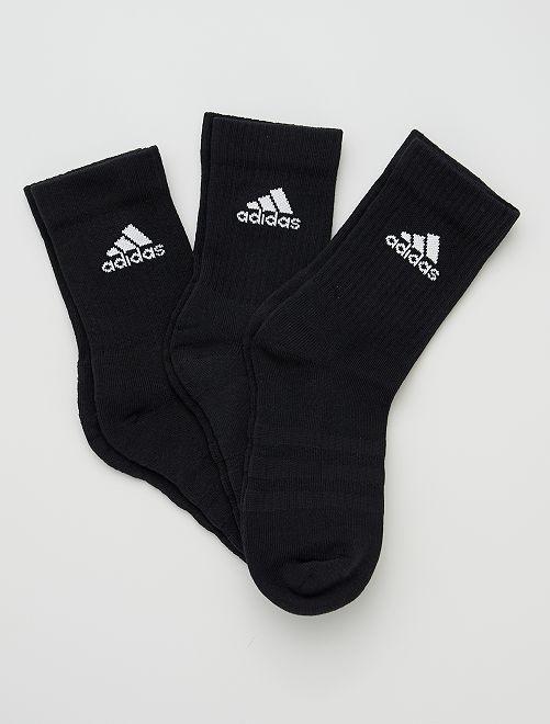 Pack de 3 pares de calcetines bajos 'adidas'                                                                                                                 BEIGE