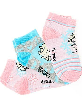 Pack de 3 pares de calcetines 'Elsa' - Kiabi