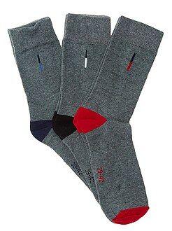 Pack de 3 pares de calcetines