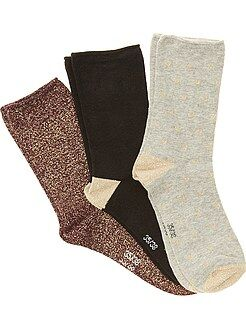 Calcetines, medias - Pack de 3 pares de calcetines