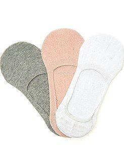 Calcetines - Pack de 3 pares de calcetines invisibles