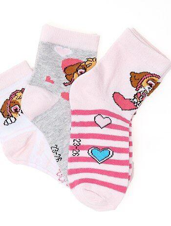 Pack de 3 pares de calcetines 'La Patrulla Canina' - Kiabi