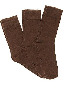 Calcetines - Pack de 3 pares de calcetines