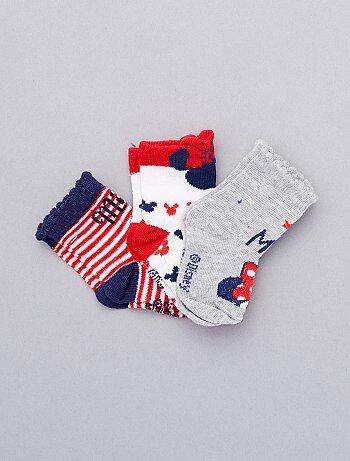 19dab0bb760 Niña 0-36 meses - Pack de 3 pares de calcetines  Minnie  -