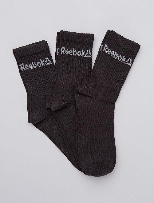 Pack de 3 pares de calcetines                                          NEGRO