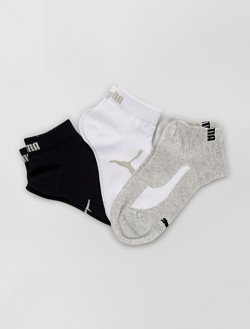 Pack de 3 pares de calcetines 'Puma'                                                                 BLANCO
