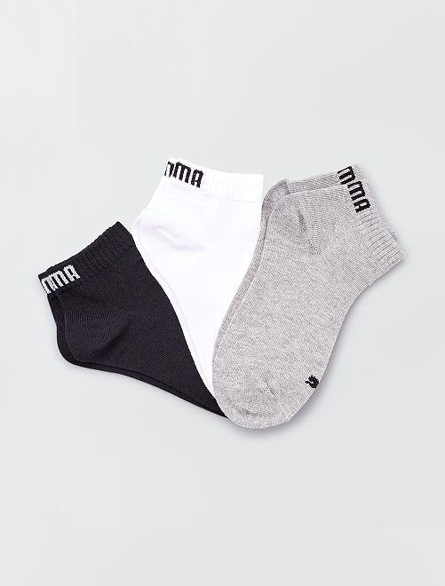 Pack de 3 pares de calcetines 'Puma' de caña corta                                                                 BEIGE