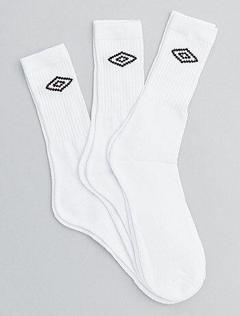 d1dfbb261 Hombre talla S-XXL - Pack de 3 pares de calcetines  Umbro  -