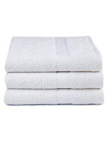 Hogar - Pack de 3 toallas de algodón puro - Kiabi
