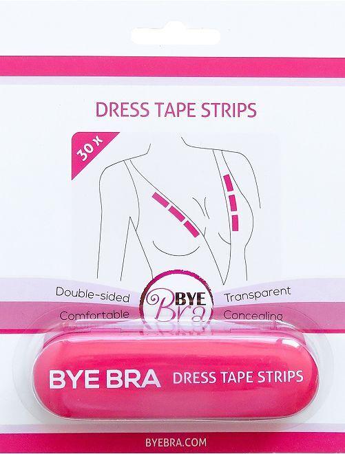 Pack de 30 bandas adhesivas para el escote                             transparente