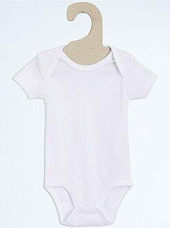 Niña 0-36 meses Pack de 4 bodies de algodón