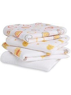 Niña 0-36 meses Pack de 4 mantas para bebé 'Disney Baby'