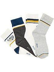 Pack de 4 pares de calcetines