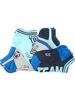 Calcetines - Pack de 4 pares de calcetines invisibles