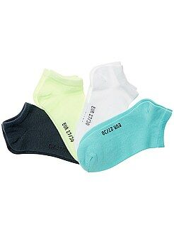 Calcetines - Pack de 4 pares de calcetines invisibles - Kiabi