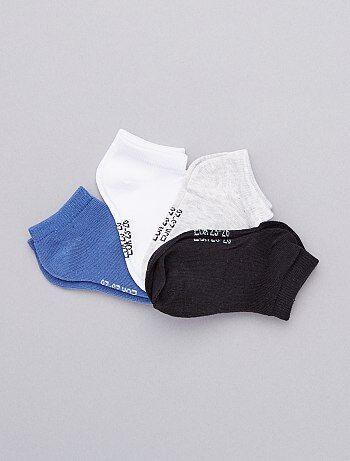 7c4f69daf Pack de 4 pares de calcetines invisibles - Kiabi