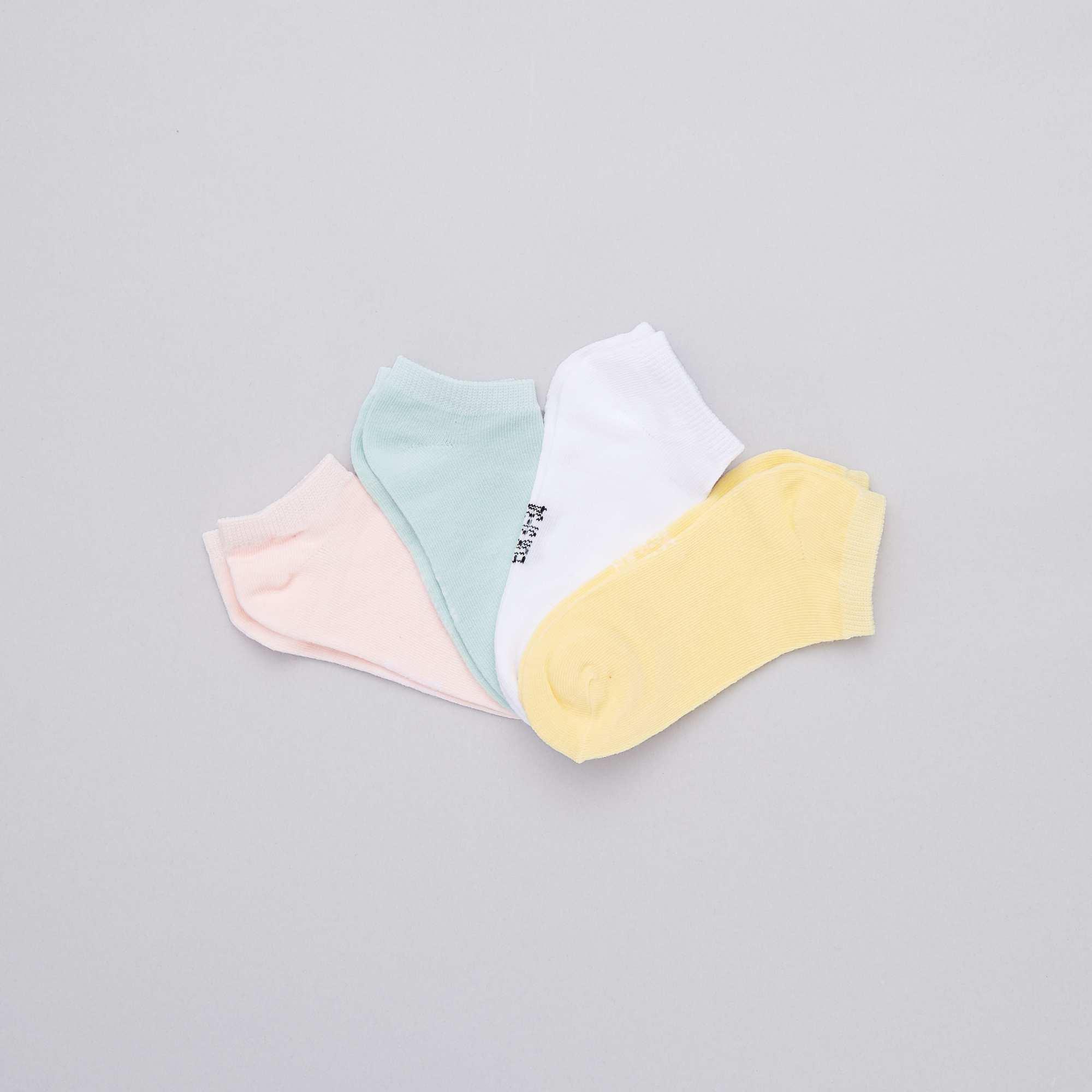 50e9291c415 Pack de 4 pares de calcetines invisibles Chica - multicolor - Kiabi ...