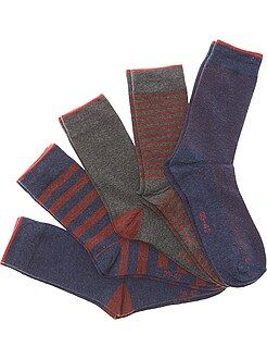 Pack de 5 pares de calcetines