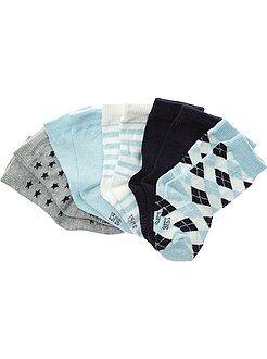 Calcetines - Pack de 5 pares de calcetines con motivos
