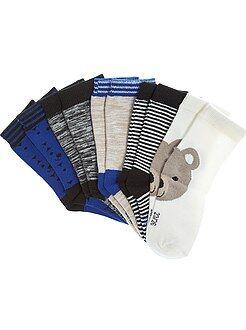 Niño 0-24 meses Pack de 5 pares de calcetines con motivos