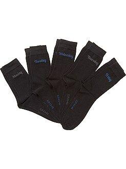 Calcetines - Pack de 5 pares de calcetines 'día de la semana'