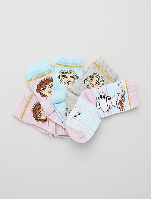 Pack de 5 pares de calcetines 'Disney'                             multicolor