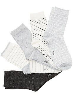 Leotardos, calcetines - Pack de 5 pares de calcetines