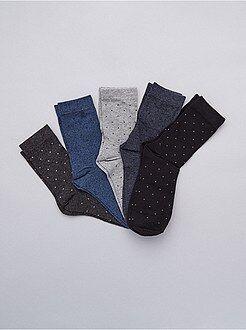 Calcetines - Pack de 5 pares de calcetines - Kiabi