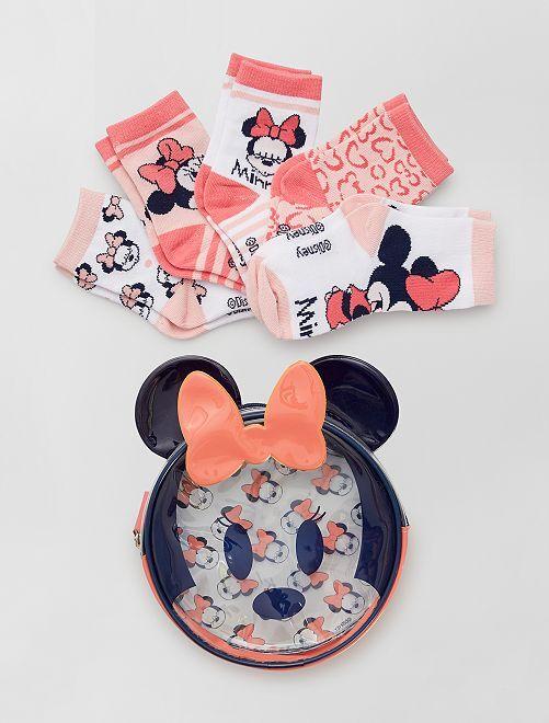 Pack de 5 pares de calcetines 'Minnie'                             multicolor