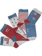 Pack de 5 pares de calcetines 'Nueva York'