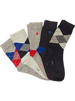 Hombre Pack de 5 pares de calcetines