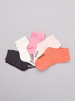 Calcetines, leotardos - Pack de 5 pares de calcetines - Kiabi