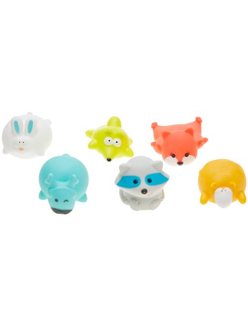Pack de 6 juguetes para el baño 'Badabulle'                             BLANCO
