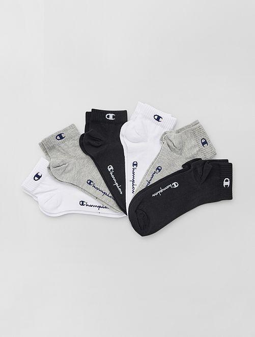 Pack de 6 pares de calcetines tobilleros 'Champion'                                                     BEIGE