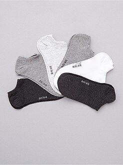 Calcetines, medias - Pack de 6 pares de calcetines tobilleros