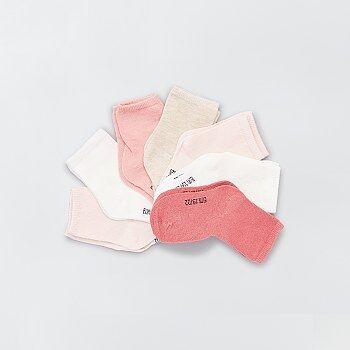 Pack de 7 pares de calcetines eco-concepción - Kiabi