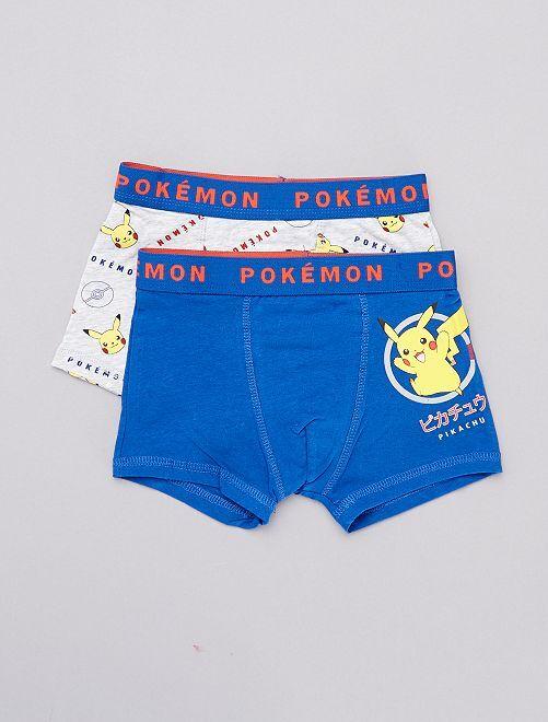 Pack de boxers 'Pikachu'                             GRIS