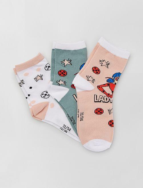 Pack de calcetines 'Prodigiosa'                             ROSA