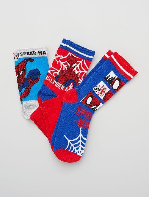 Pack de calcetines 'Spiderman' 'Marvel'                                         AZUL