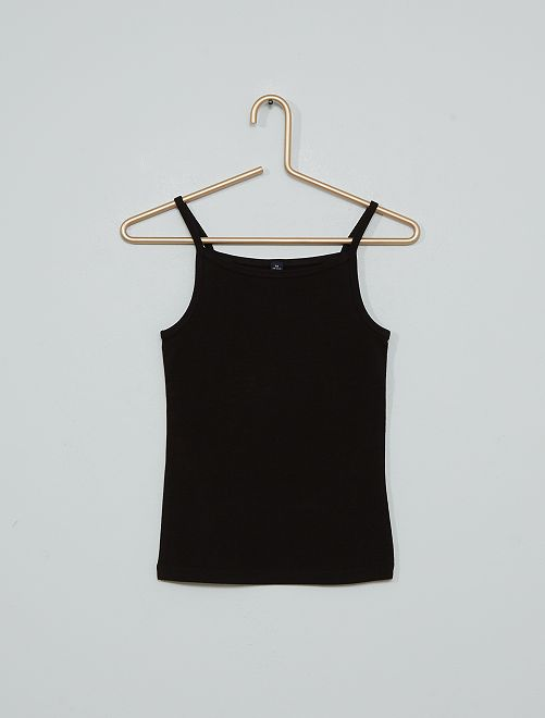 Pack de camisetas de tirantes                                                                             NEGRO