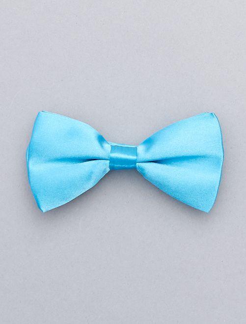 Pajarita flúor                                                                             azul