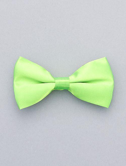 Pajarita flúor                                                                 verde Accesorios