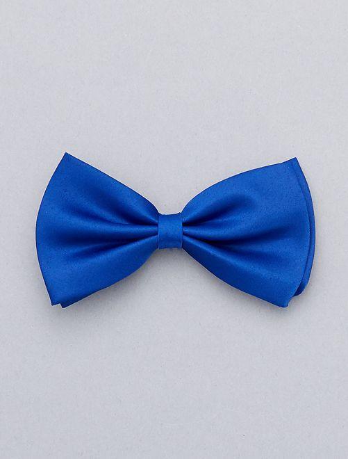 Pajarita lisa                                                                             azul