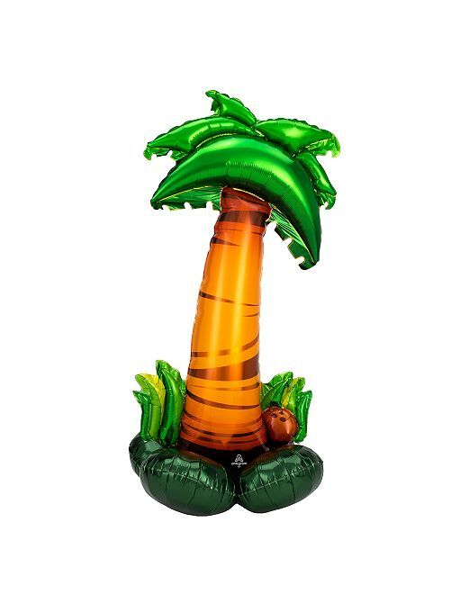 'Palmera' hinchable gigante                             verde