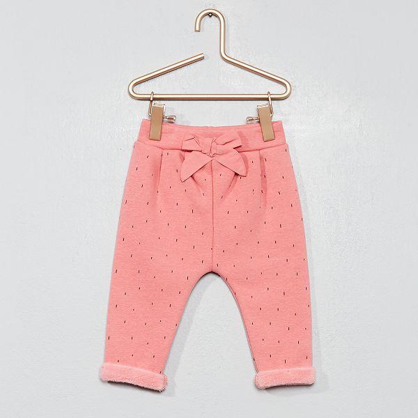 seleccione original 2019 auténtico calidad asombrosa Pantalón abrigado de felpa con forro