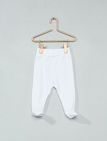 Niño 0-36 meses - Pantalón 'Absorba' de algodón orgánico - Kiabi