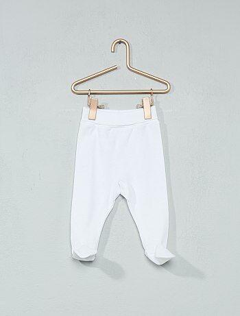 Pantalón 'Absorba' de algodón orgánico - Kiabi