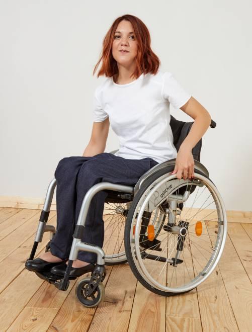 Pantalón adaptado para silla de ruedas 'A&K Classics'                                         vaqueros Mujer talla 34 a 48