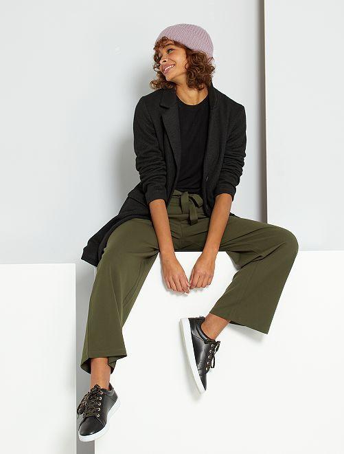 Pantalón ancho 'Jacqueline de Yong'                             KAKI